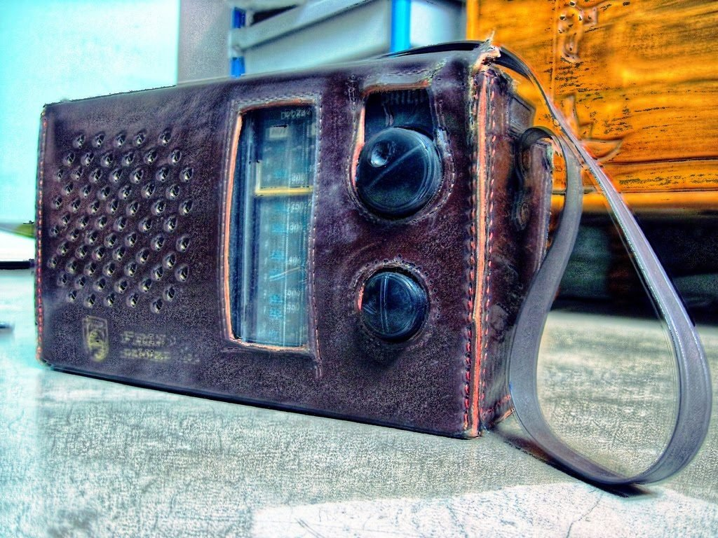 The radio in HDR by Sudipto Sarkar on Visioplanet