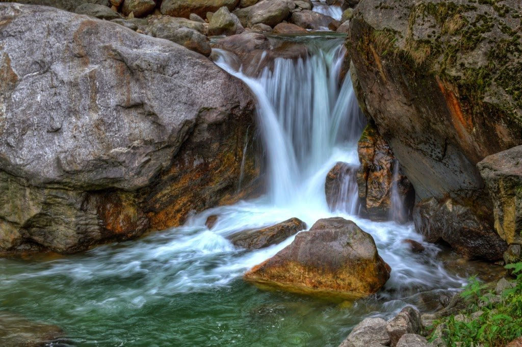 Waterfall by Sudipto Sarkar on Visioplanet