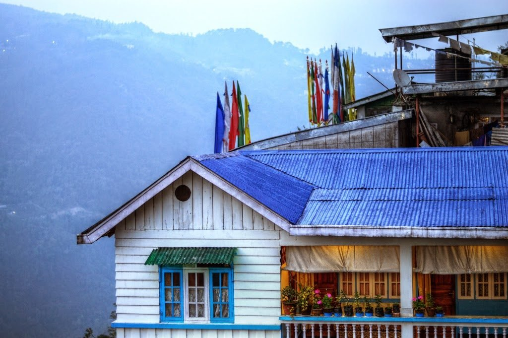 The House On The Mountain by Sudipto Sarkar on Visioplanet