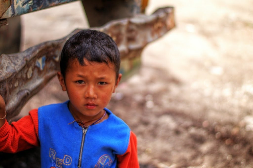 The Kid by Sudipto Sarkar on Visioplanet