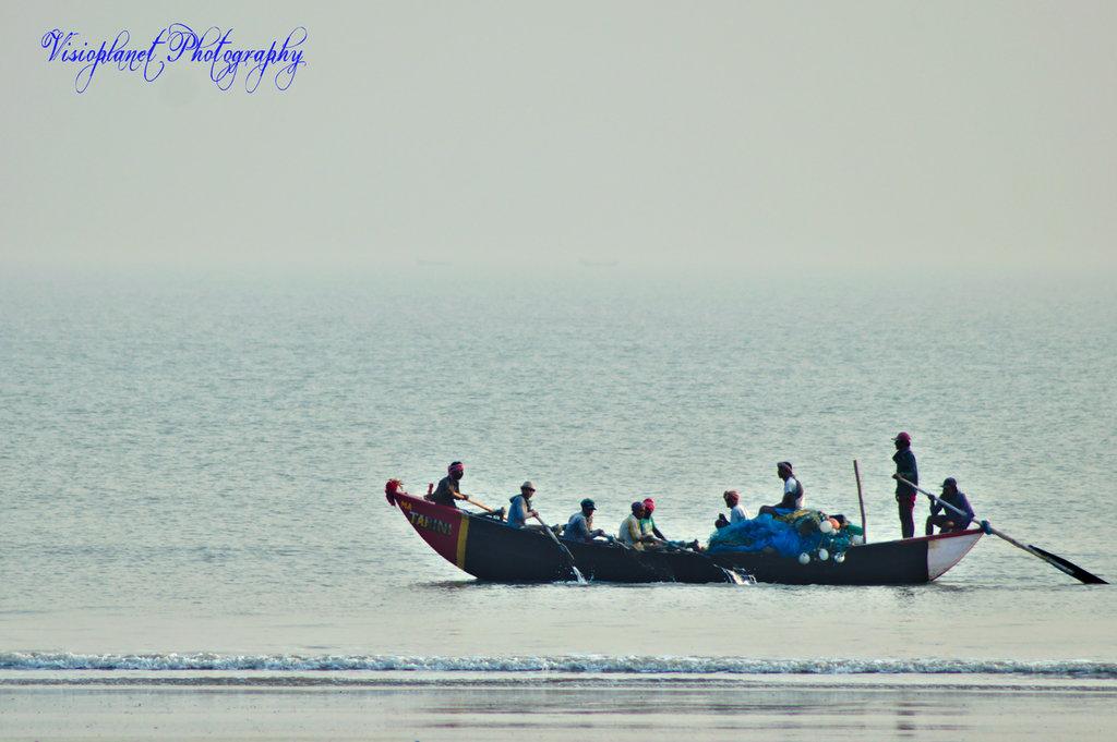 Boat Friday by Sudipto Sarkar on Visioplanet Photography