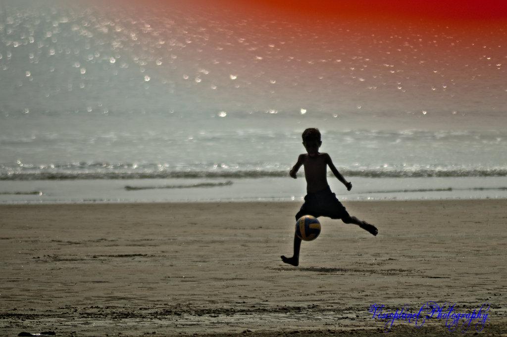 Kick! by Sudipto Sarkar on Visioplanet Photography