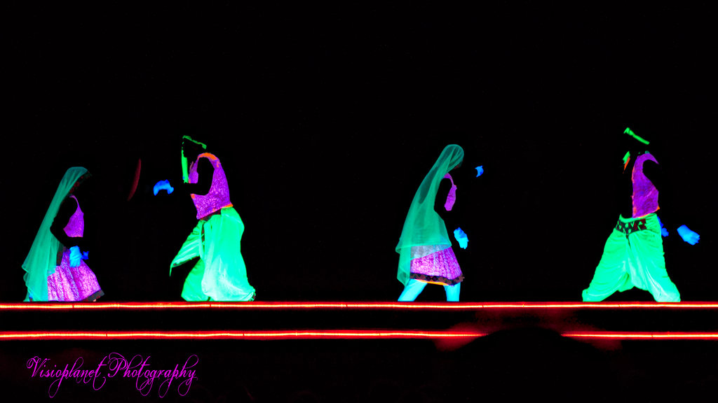 The Glow in the Dark Dancers by Sudipto Sarkar on Visioplanet Photography