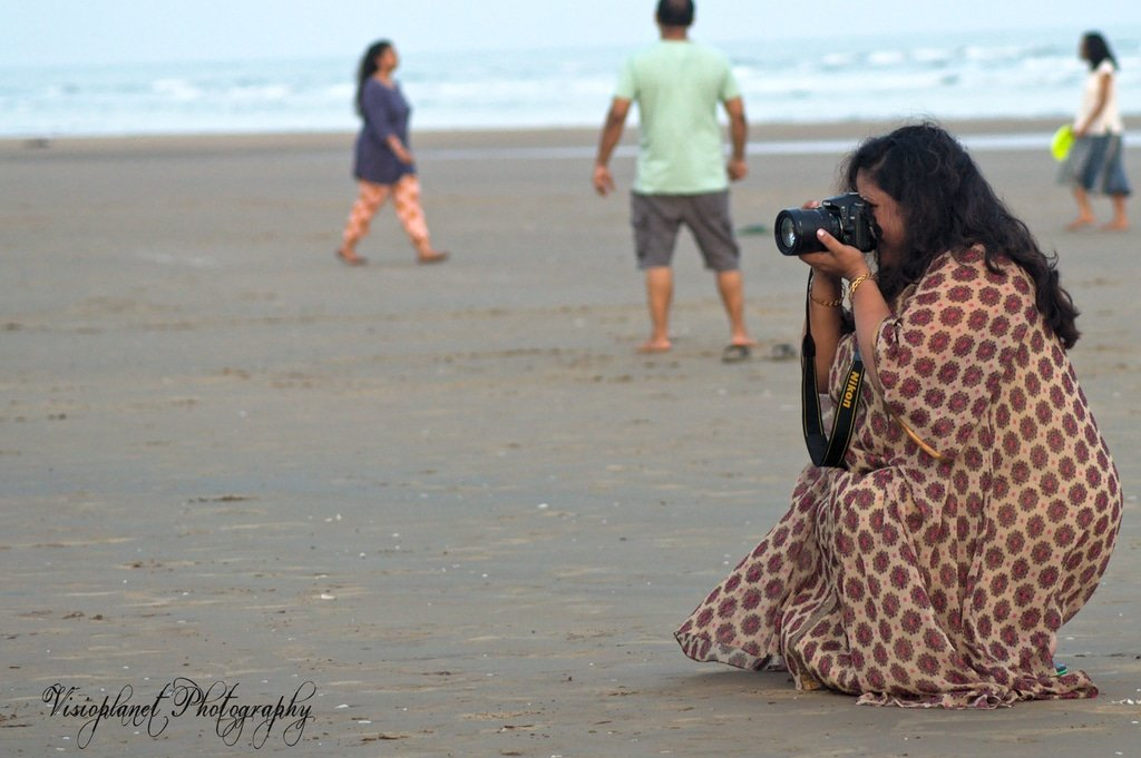 The Photographer by Sudipto Sarkar on Visioplanet